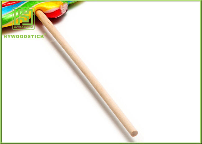 Biodegradable Wooden Lollipop Sticks Rock Candy Suckers 10cm ~ 90cm Length