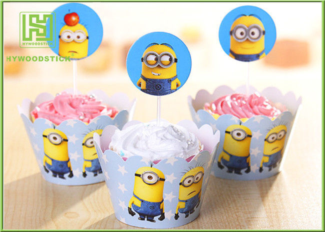 Happy Birthday Cake Decoration Toppers Decorative Food Picks Well Polished