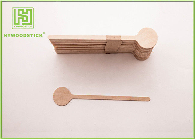Healthy Coffee Mixer Stick , Individually Paper Sleeve Wooden Drink Stirrers